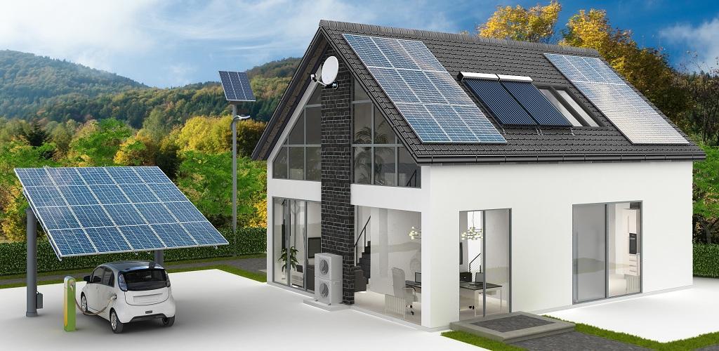 Wiaty samochodowe solarne fotowoltaika instalacje fotowoltaiczne systemy fotowoltaiczne - Salon maison ecologique ...